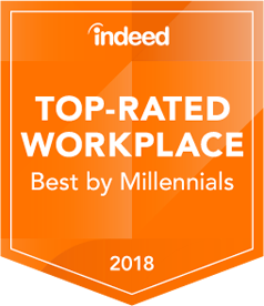 Indeed Award Best Place to Interview 2018